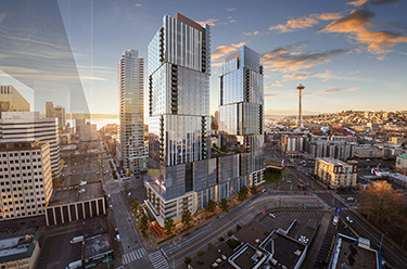 Clise Properties Proposes Development of Twin Towers